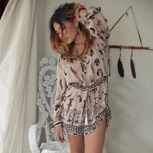 Vintage Spell & The Gypsy Tribal Playsuit